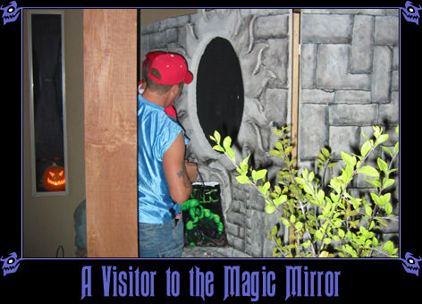 A Visitor to the Magic Mirror